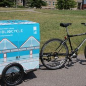 "Boston Public Library's Debuts ""Bibliocycle"" While Storymobile Hits the Streets For 19th Year"