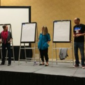 Scenes from the 'Ultimate Picture Book Sketch-Off' | ALA 2014