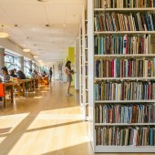 The Reed Foundation Library and Margo Viscusi Reading Room at Poets House