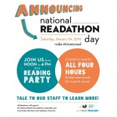 #timetoread for National Readathon Day