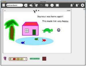 Squeak Etoys is a free authoring environment that helps introduce kids to the principles of computer programming