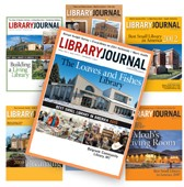collage of Best Small Library in America LJ covers