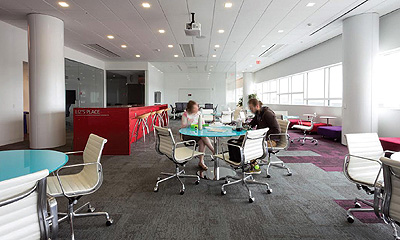 rethinking office space. collaborate u0026 listen staff like patrons need flexible spaces in which to work together rethinking office space
