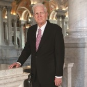 Librarian of Congress Dr. James H. Billington. Photo by Abby Brack Lewis.