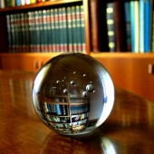 library crystal ball