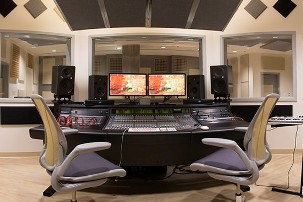 Melrose Center audio studio