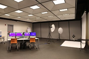 Photo studio at Melrose Center
