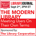 The Modern Library: Meeting Users On Their Own Terms