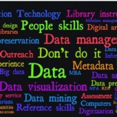 Word cloud for librarianship