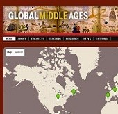 thumbnail version of GlobalMiddlesAges.com homepage screenshot