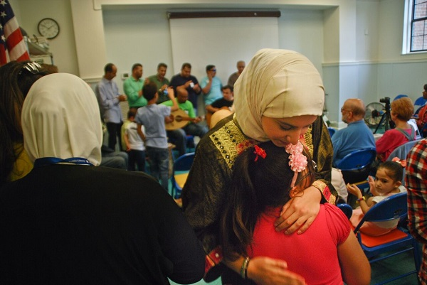LFPL welcomes Syrian refugees Photo credit: Michelle Wong