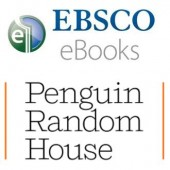 EBSCO eBooks and Penguin Random House logos