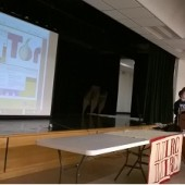 Library Freedom Project presentation at the Farmingdale Library