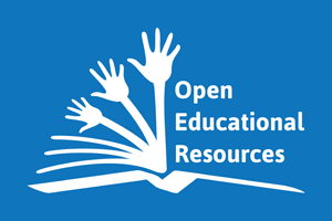 Open Educational Resources logo, by Jonathas Mello