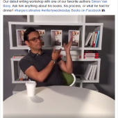 HarperCollins Launches Live Programming via Facebook