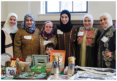 Syrian library patrons at Louisville Free PL's 2016 Women of the World event.  Photo courtesy of Louisville Free PL