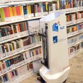 High Tech Shelf Help: Singapore's Library Robot