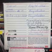 Sample tape from NLL oral history collection Photo credit: Irving Nelson