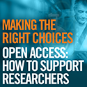 Open Access: How to Support Researchers