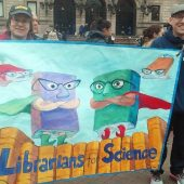 Library Associations Turn Activist for April Marches