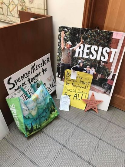 Donations to Albert and Shirley Small Special Collections Library from Charlottesville demonstrations