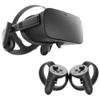 Oculus Rift Headset and Touch controllers