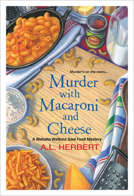 Library journals best books 2016 best genre fiction murder with macaroni and cheese a mahalia watkins soul food mystery forumfinder Gallery