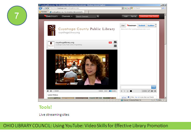 Using YouTube: Video Skills for Effective Library Promotion