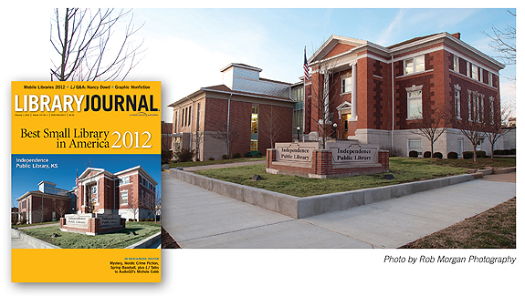 Best Small Library in America 2012: The Independence Public Library, KS