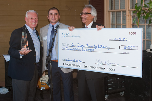 San Diego's director accepts a sizeable check