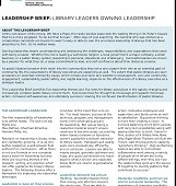 Add Substance to Style: ULC's New Leadership Brief Neglects Public Library Values | Blatant Berry