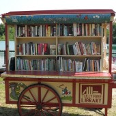 Book Buggy Brings Summer Reads to Beachgoers