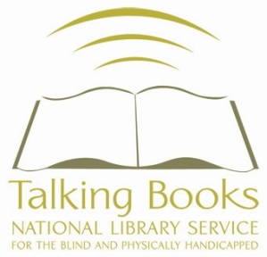 National Library Service for the Blind and Physically Handicapped (NLS) Talking Books logo