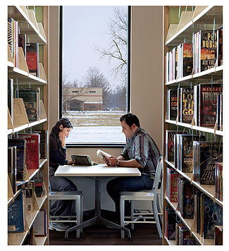 10 Steps to a Better Library Interior: Tips That Don\'t Have To ...
