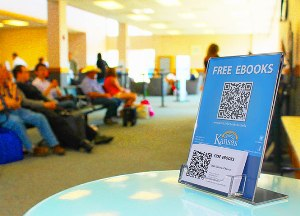 Books on the Fly from the State Library of Kansas and the Manhattan, KS airport