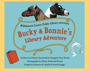 Bucky & Bonnie's Library Adventure book cover