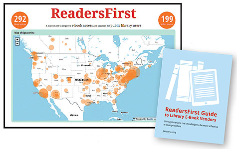 BY THE NUMBERS ReadersFirst now represents almost 300 libraries and 200 million readers