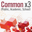 Common x 3 (Public, Academic, School): Designing next generation gathering and learning spaces for libraries of every type