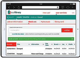 TLC TO GO The Library Corporation recently launched CARL•Connect, a new web-based staff client optimized for tablets and mobile devices