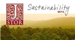 JSTOR Sustainability Beta site