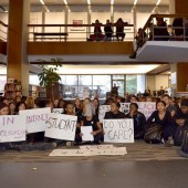 Amherst College Protesters Occupy Frost Library