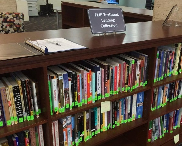 Textbook lending library for first generation students at Brown University