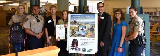 State Parks Service and library leaders launched the expanded program at a press conference on June 20