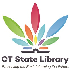 Connecticut State Library modified logo (square)