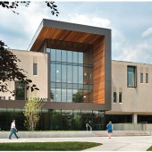 Charles E. Shain Library | New Landmark Libraries 2016 Winner