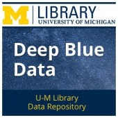 "University of Michigan Launches ""Deep Blue Data"" Repository"