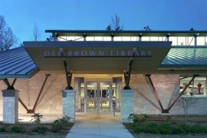 Dee Brown Library Photo courtesy of Fennell Purifoy Architects
