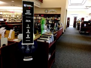 Penn State Short Edition Short Story Dispensing Kiosk