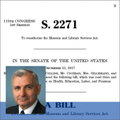 Museum and Library Services Act of 2017 Introduced in Senate