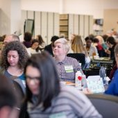 Attendees at the 2018 Personal Librarian and First Year Experience Conference